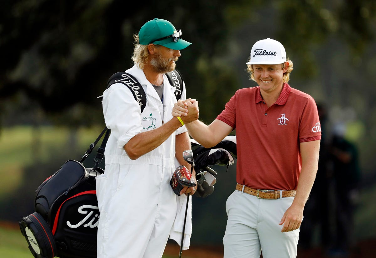 Masters 2021 Cameron Smith Wants Rounds Record To Lead To Green Jacket