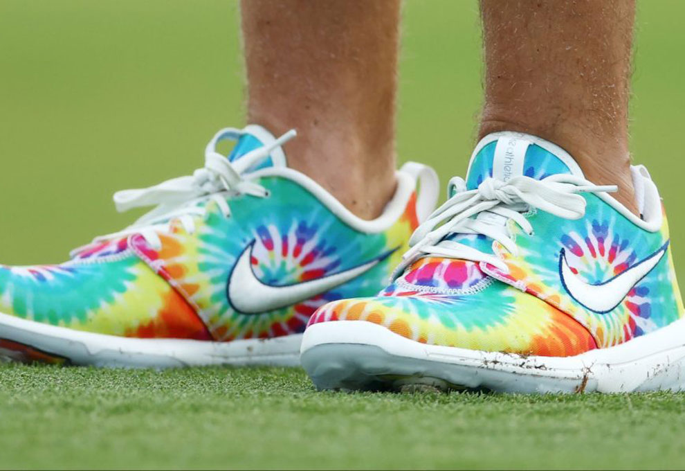 Matthew Wolff S Tie Dyed Nike Golf Shoes Have Our Attention 2020 Masters