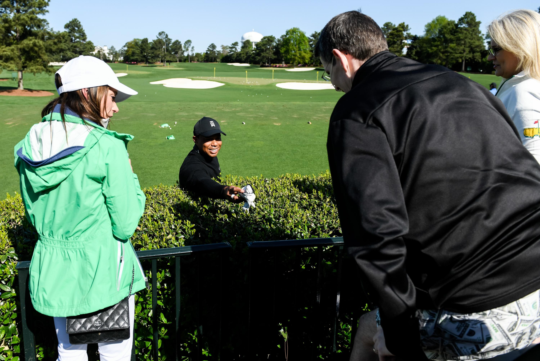 Man who met Tiger Woods at Masters has died
