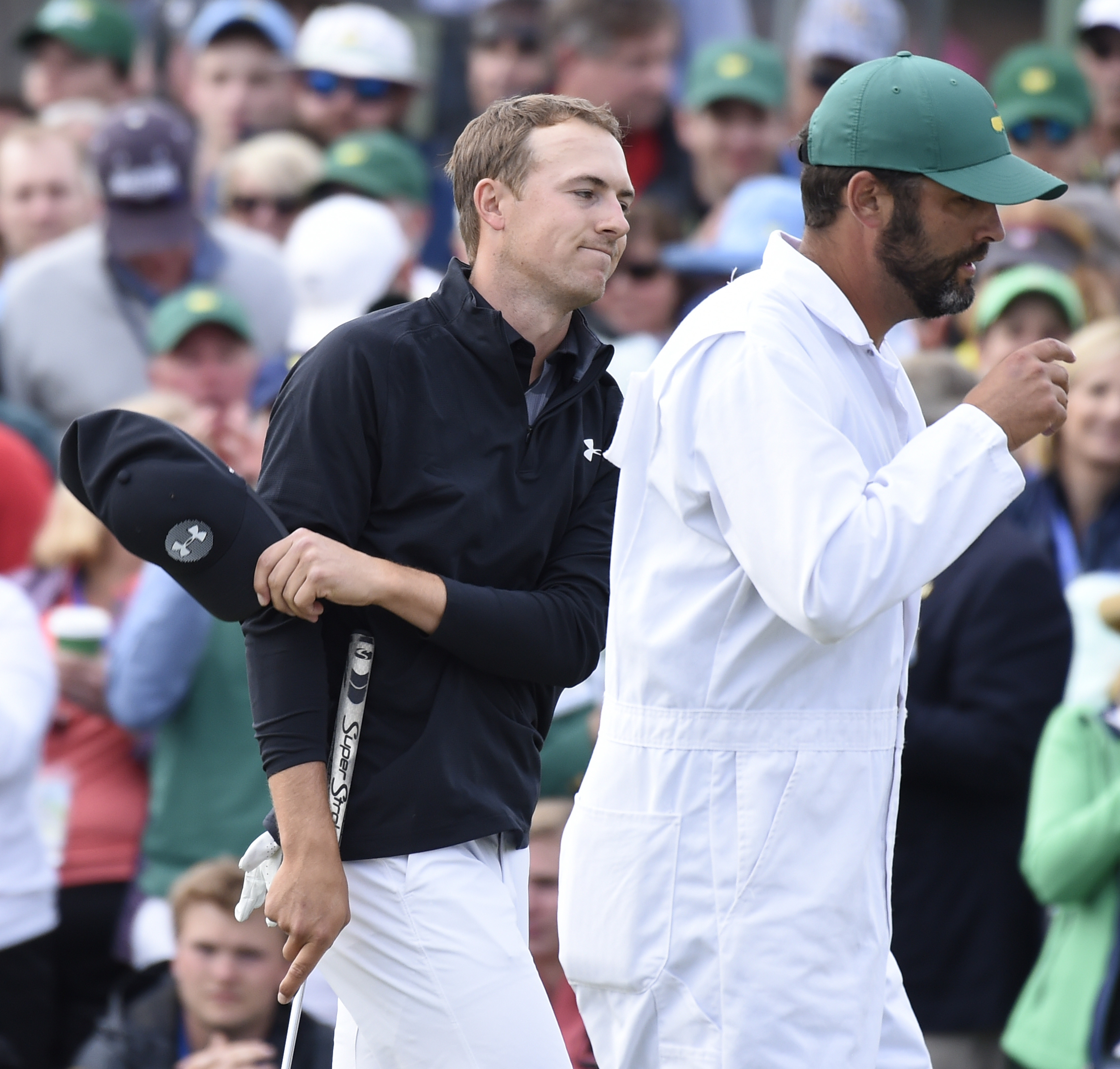 Jordan Spieth flirts with Masters course record, finishes third