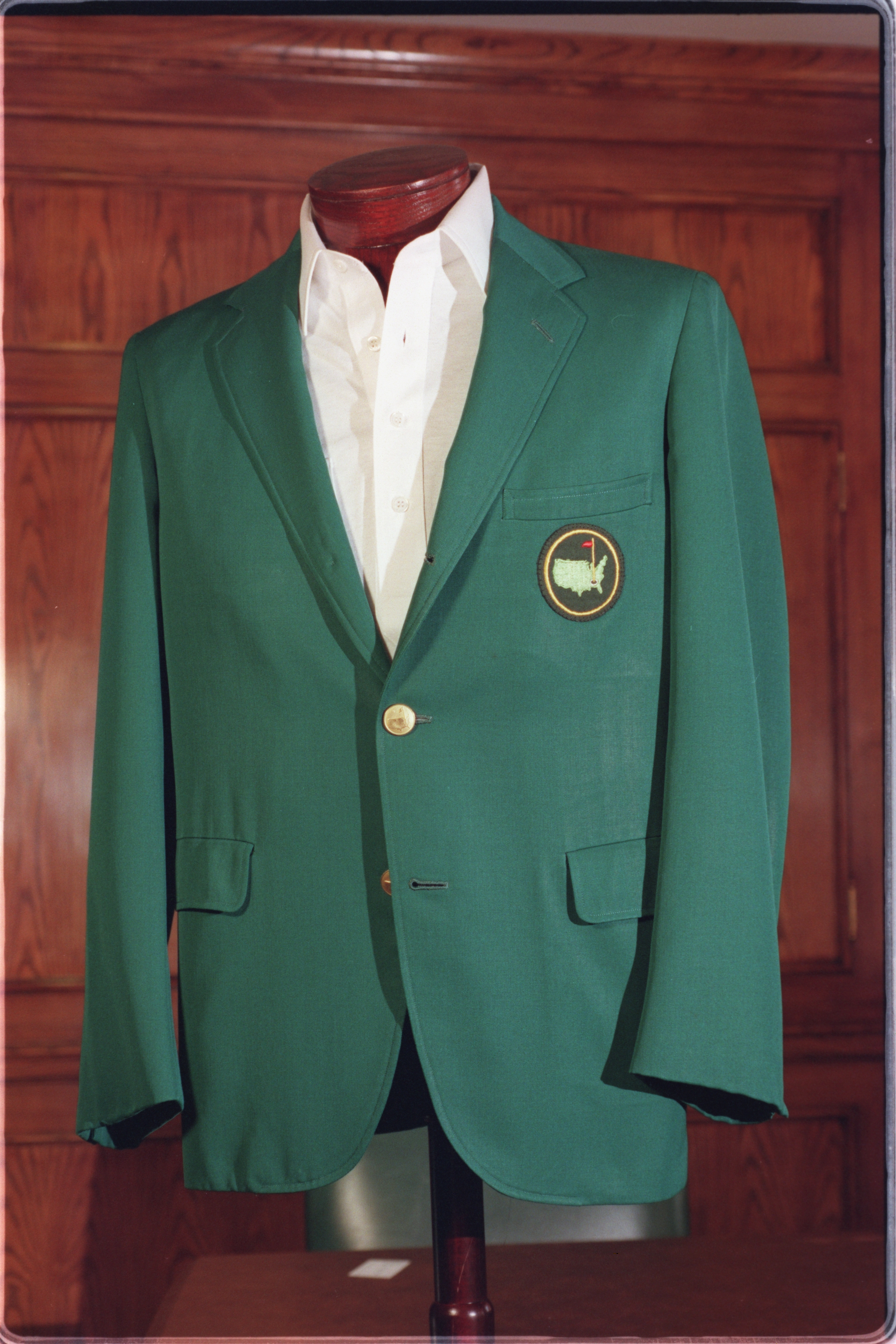 A green jacket similar to this one was at the heart of a lawsuit involving Augusta National Golf Club and an auction company. [FILE/THE AUGUSTA CHRONICLE]