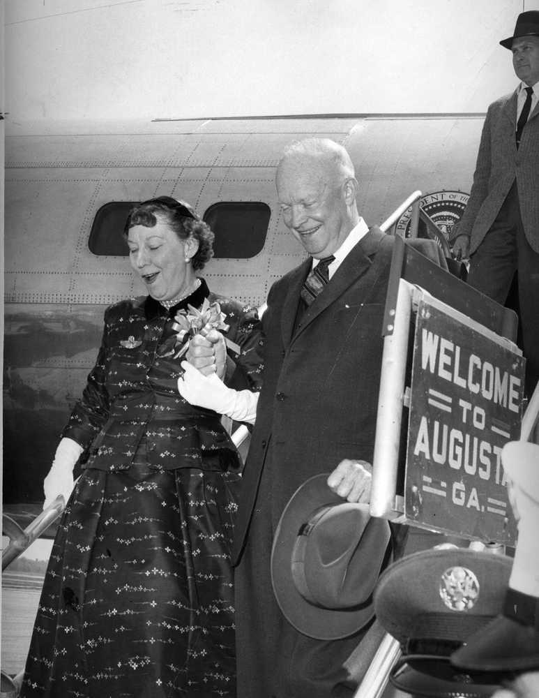 Eisenhower loved Augusta National, and city loved him back