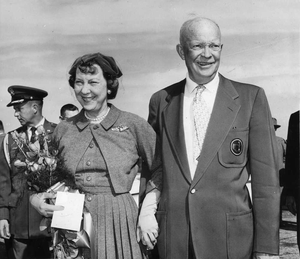 Photographer documented Eisenhower's visits to Augusta