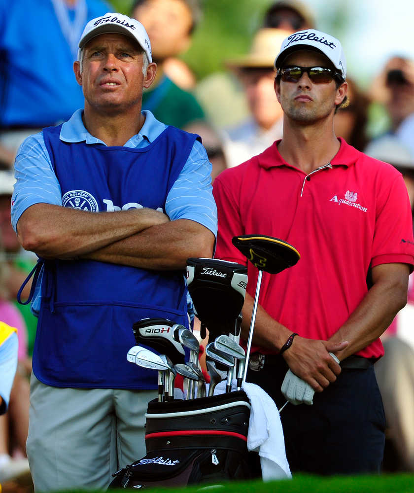 Caddies for Tiger Woods, Fred Couples move on