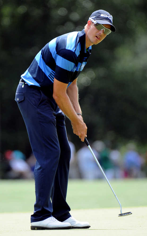 Henrik Stenson takes meltdown on No. 18 in stride