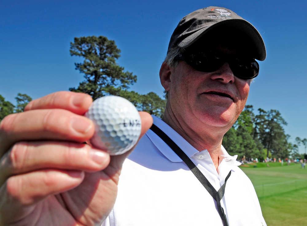Pennsylvania man donates double-eagle ball on No. 2  to Augusta National