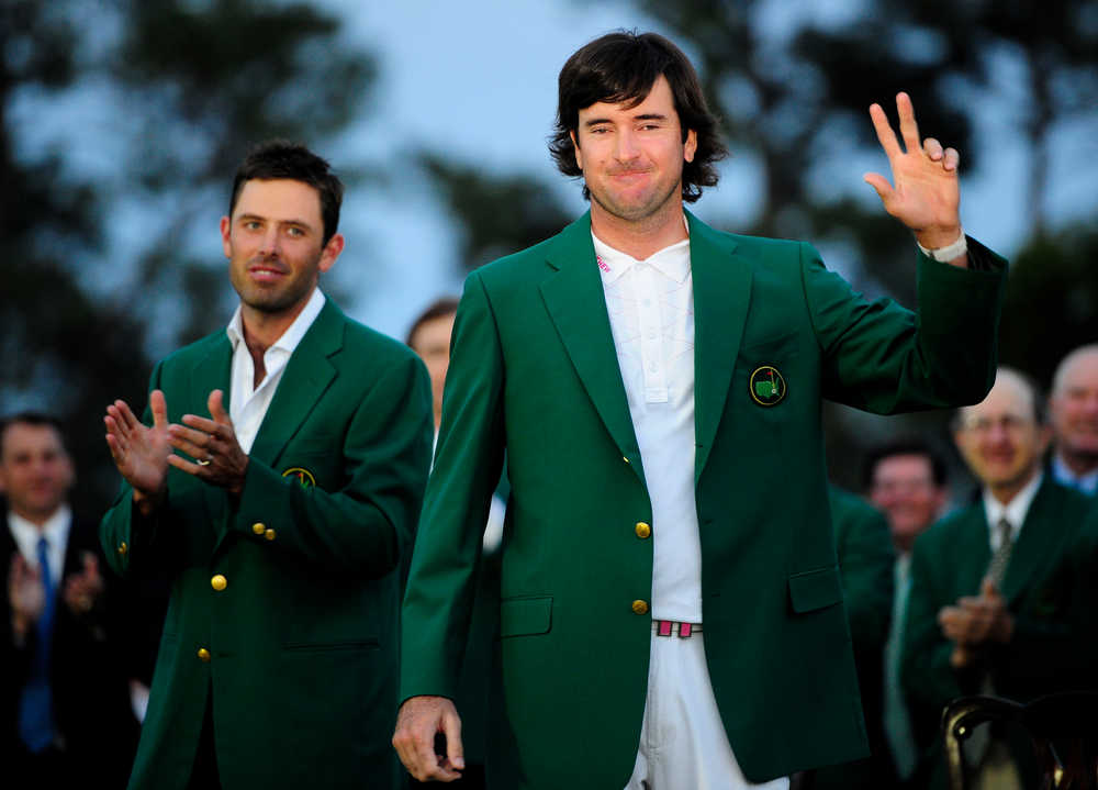 'Crazy shot' carries Bubba Watson to Masters Tournament victory