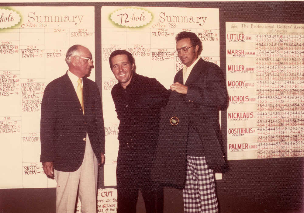 Snead outlasts Hogan, Patton to win 1954 Masters