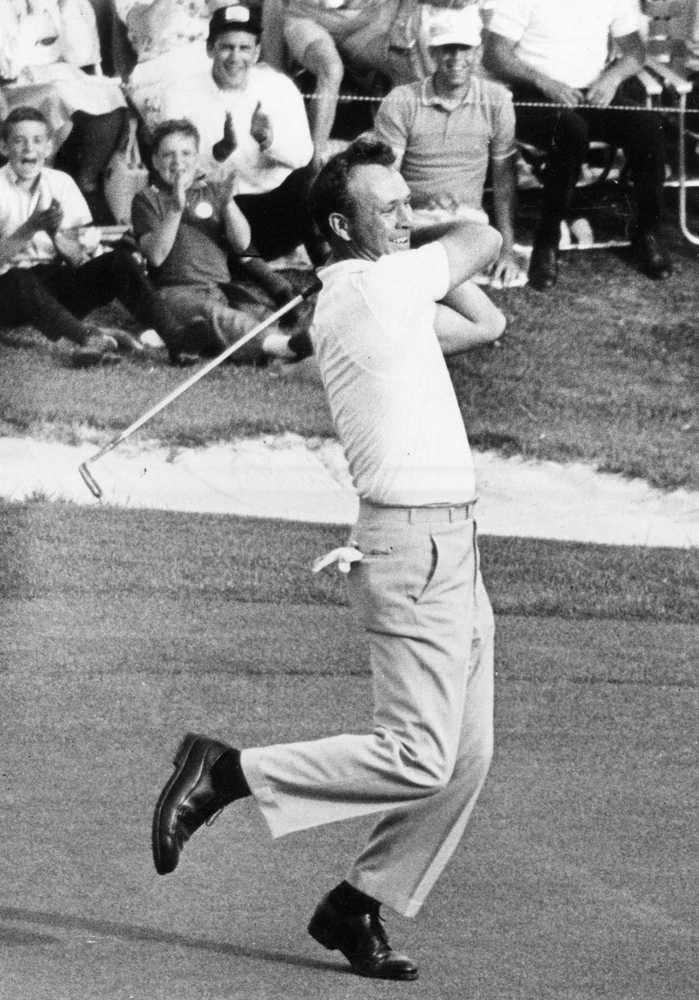 Masters anniversaries: Arnold Palmer wins fourth title in 1964
