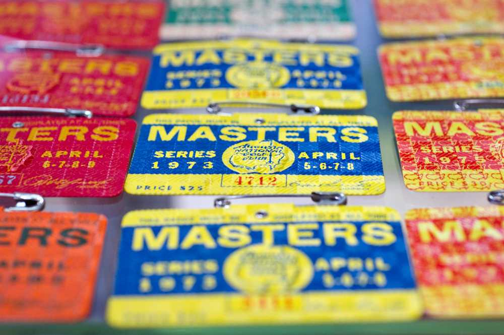 Masters badges are prized possessions