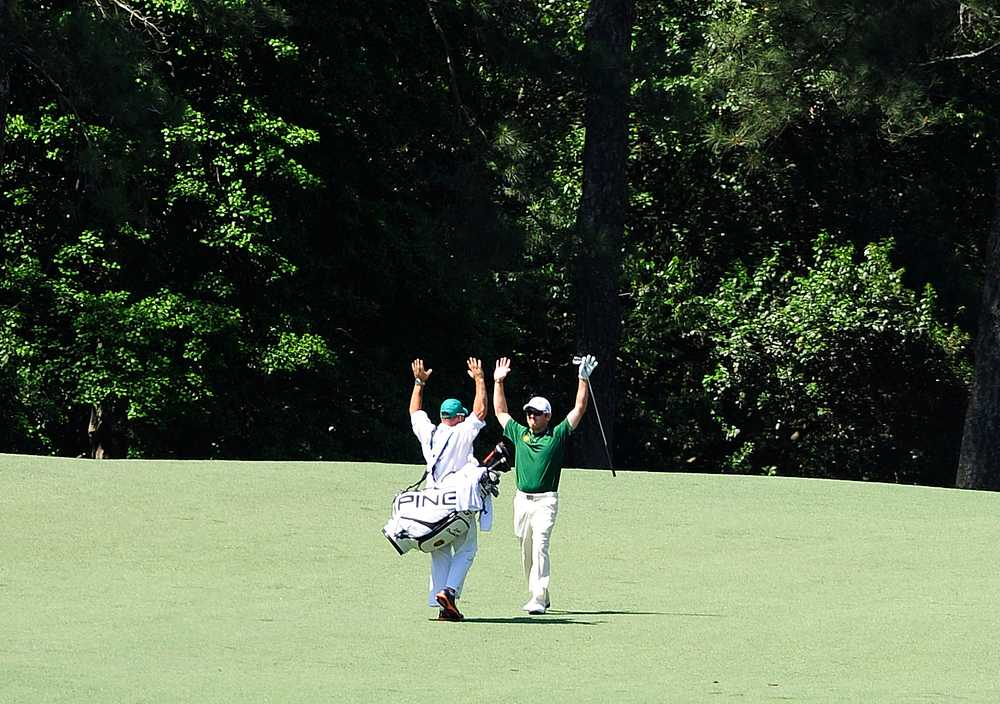 Double eagles few at Masters