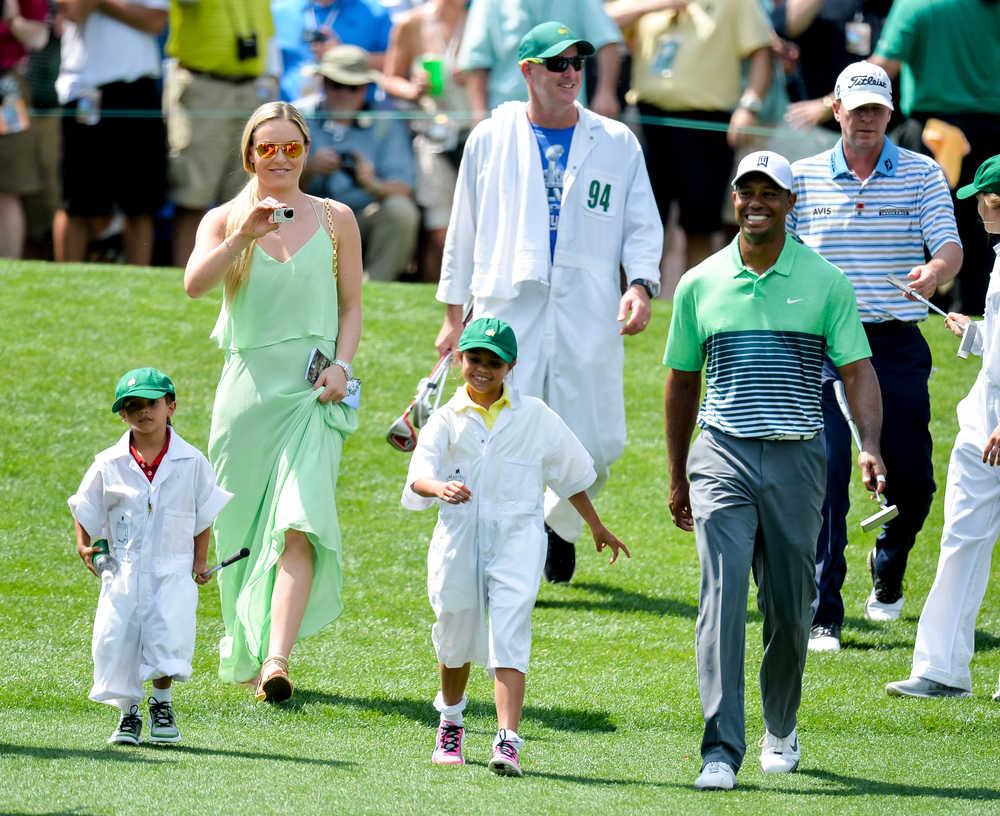 Tiger Woods enjoys time with kids at Par-3 Contest   2021 ...
