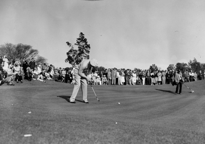 1937: Byron Nelson wins first of two Masters