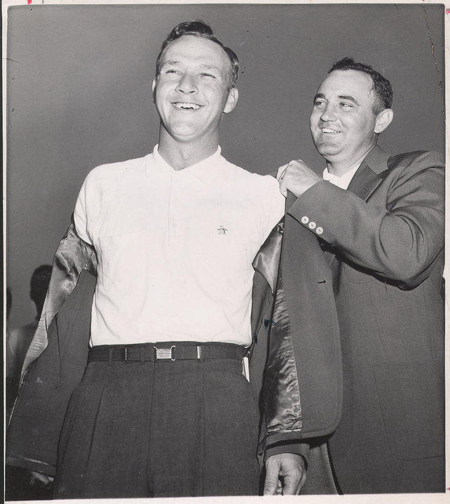 1958: Arnold Palmer wins as Amen Corner is born