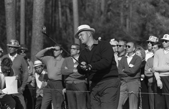 1966: Jack Nicklaus first to win consecutive Masters