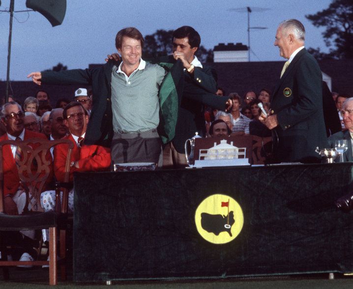 1981: Tom Watson conquers new Masters greens