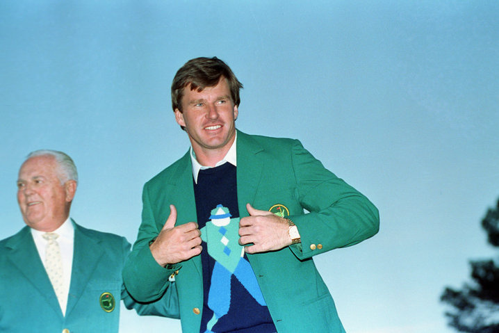 1990: Nick Faldo second to defend Masters title