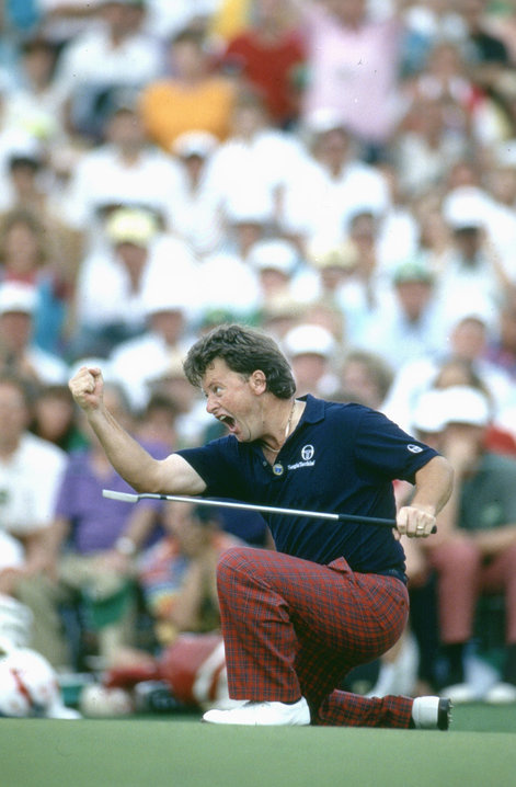 1991: Wales' Ian Woosnam secures Masters title