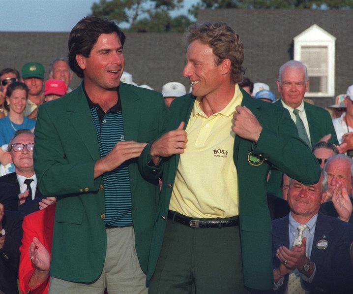 1993: Bernhard Langer wins second Masters