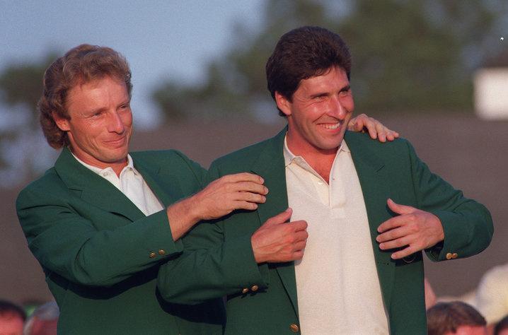1994: Jose Maria Olazabal second Spaniard to win Masters