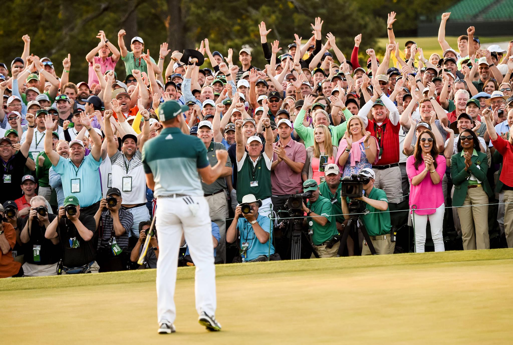 Garcia wins Masters playoff to claim green jacket