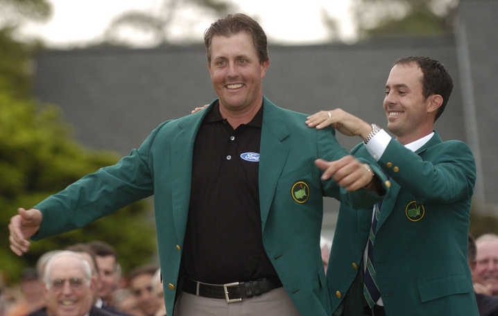 2004: Phil Mickelson wins first major at Masters