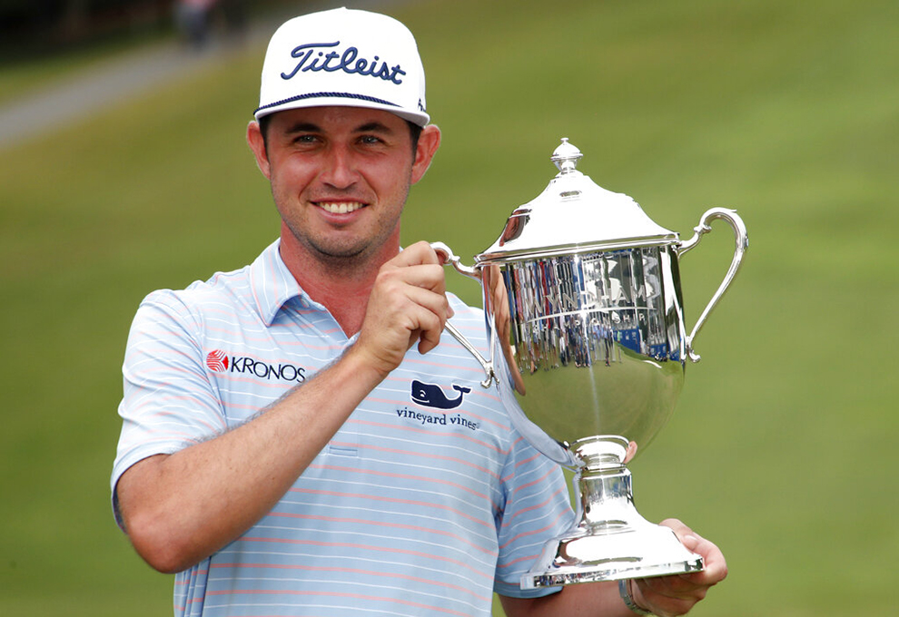 J.T. Poston claims 1st PGA Tour victory at Wyndham Championship ...