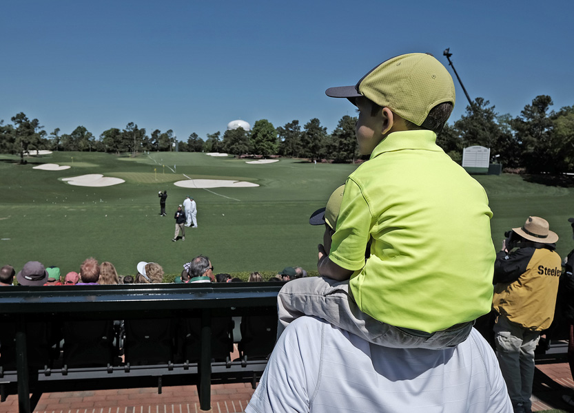 The List: Go-to places at Augusta National