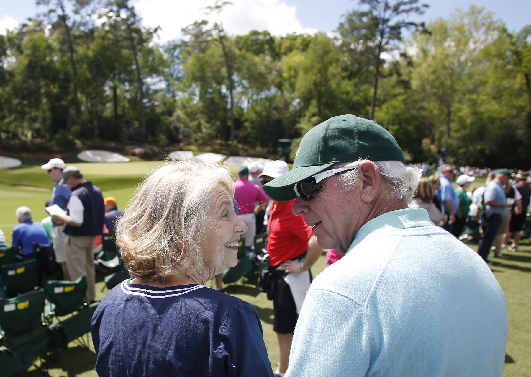 Couple found love on the fairway in 1963