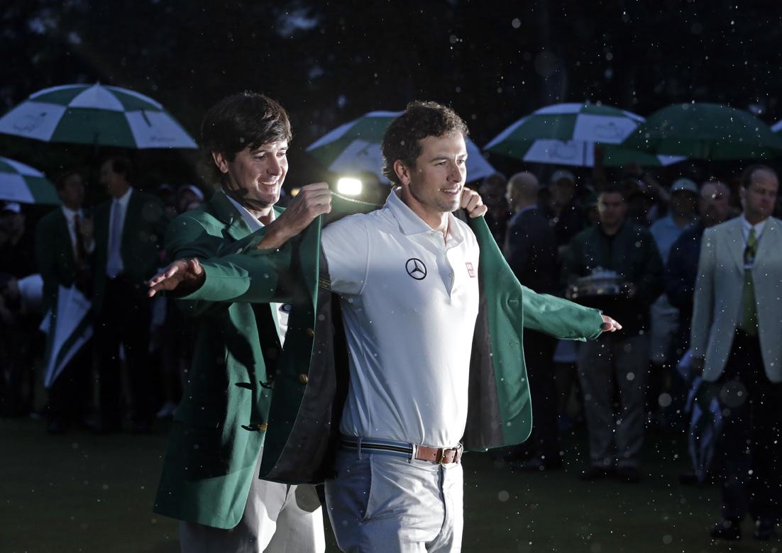 Adam Scott becomes first Australian champion