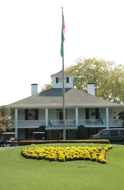 Augusta National clubhouse is home to National treasures