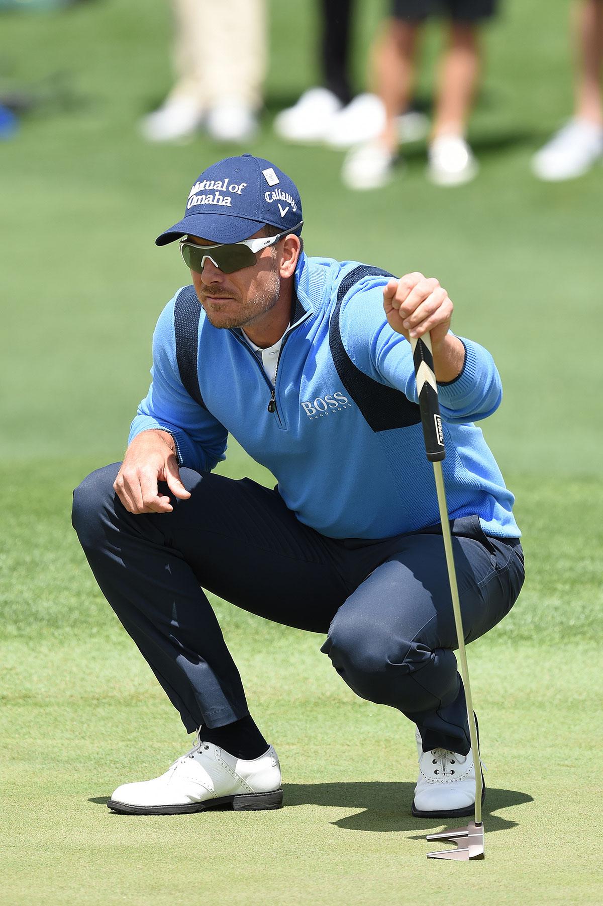 Henrik Stenson puts focus on success at Masters Tournament