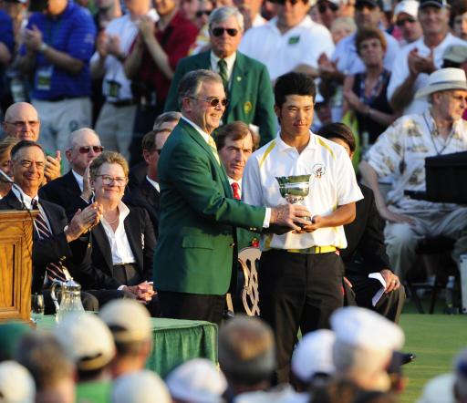 Matsuyama earns amateur accolade