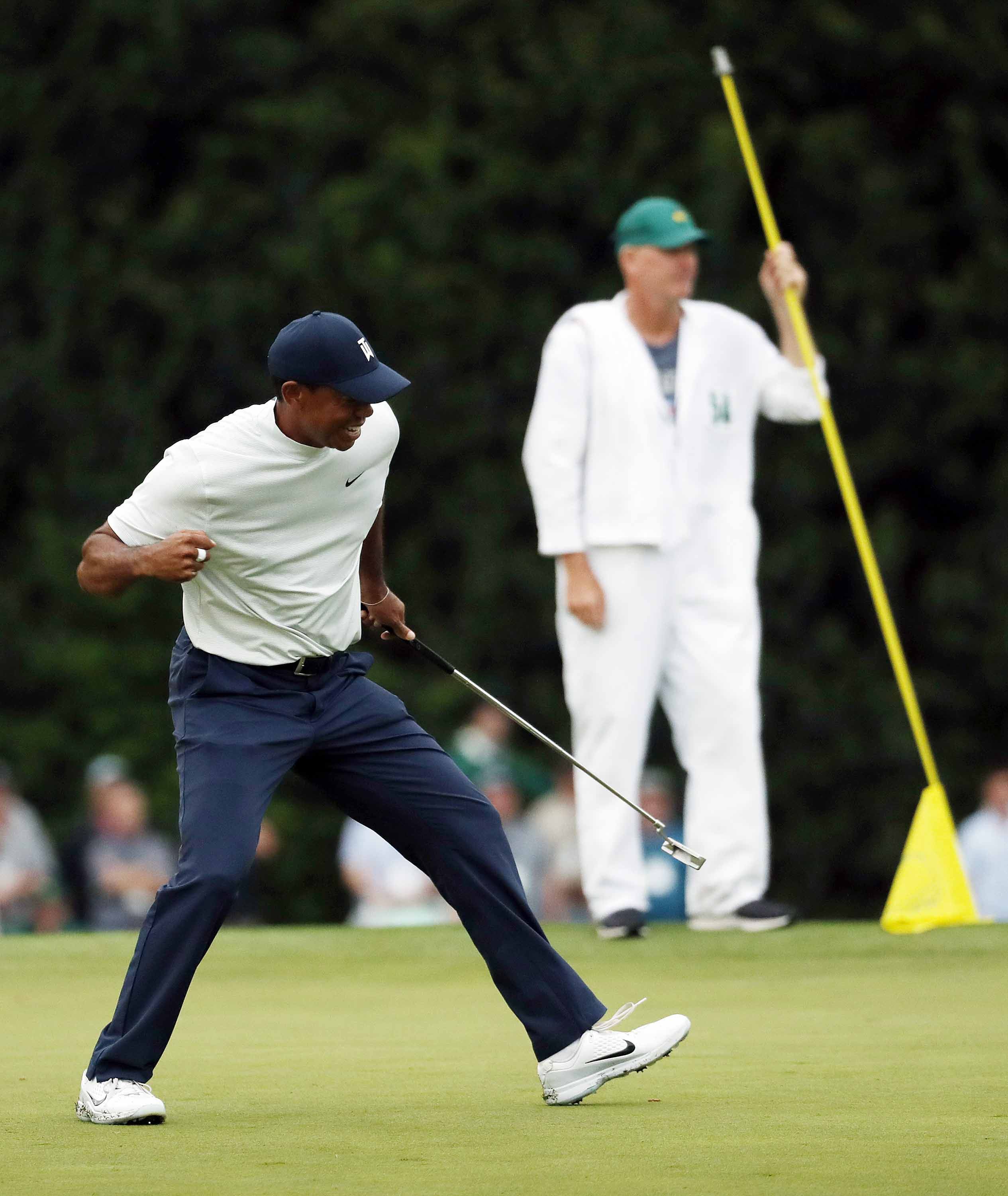 Tiger Woods Finds That Familiar Friday Feeling At Masters 2021 Masters