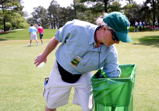 Masters trash is treasure for some