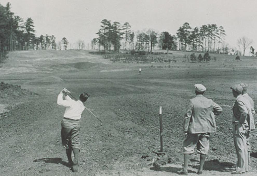 1934: MacKenzie declared Augusta National as his best golf course