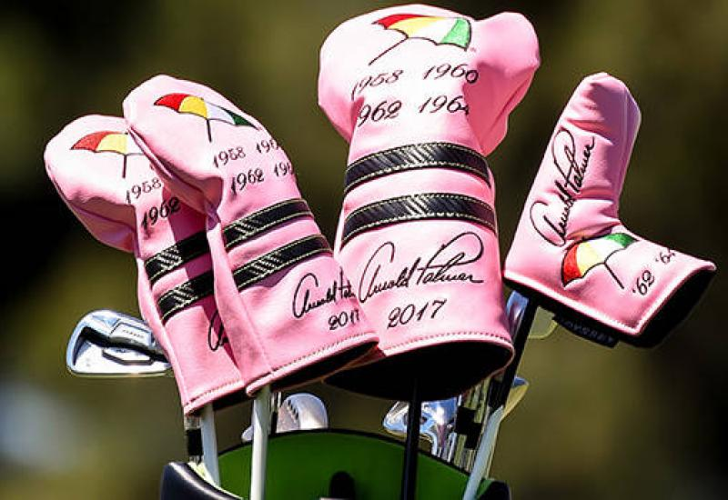 Patron among others paying tribute to Palmer at Masters