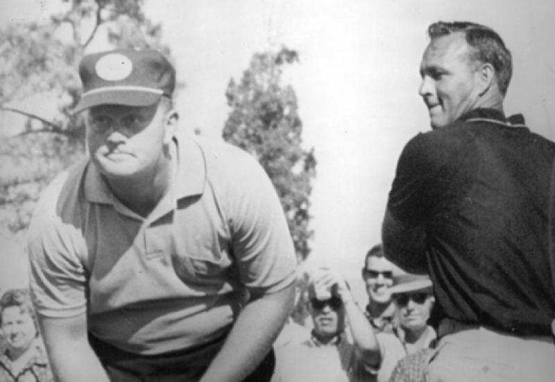 Arnold Palmer kept Par-3 Contest laid-back fun
