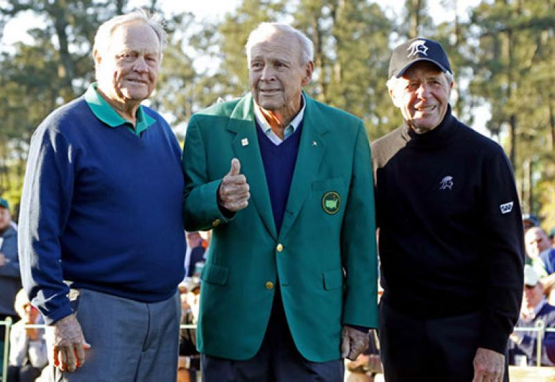 Honorary starters part of Masters majesty