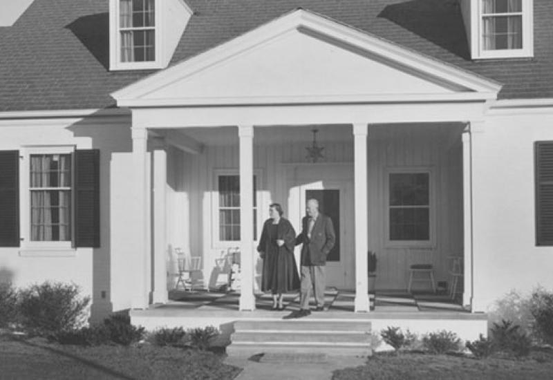 Augusta architect designed Eisenhower Cabin